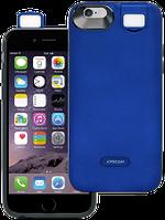 Акумуляторний чохол Joyroom для iPhone 6/6S на 3000mAh з підсвічуванням [Синій (темний)], фото 1