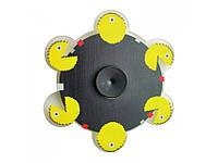 Бегущий анимационный Спиннер Пакман, Спиннер с живой анимацией под объективом камеры, Animated Spinner, 8*8 см
