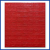 Декоративные стеновые панели 3d под Кирпич 700*770*5мм 3д для стен в ванную спальню самоклейка