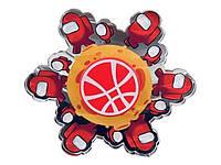 Бегущий анимационный Спиннер Among Us Амогус Красный, Спиннер с живой анимацией под объективом камеры,