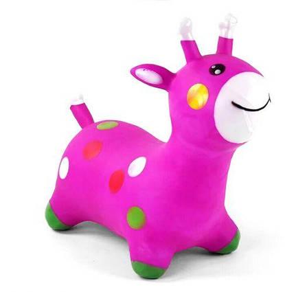 """Прыгун """"Жирафчик"""", фиолетовый C44702"""