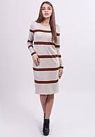 Платье выполнено красивой гладкой вязкой, фото 1