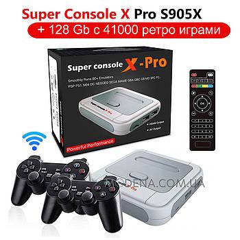 Игровая приставка X PRO S905X HDMI 128Gb   41000 ретро игр