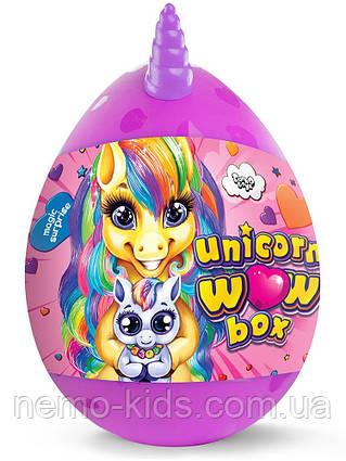 """Набор для творчества в яйце """"Unicorn WOW Box""""  для девочек"""