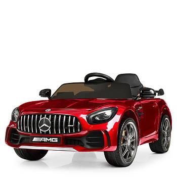 Детский электромобиль Bambi Racer M 4182EBLRS-3 красный мерседес 2 мотора музыка свет автопокраска