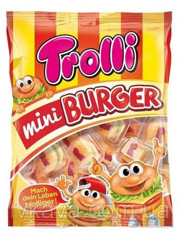 Желейные конфеты Trolli Mini Burger  , 17 шт х 10 гр, фото 2