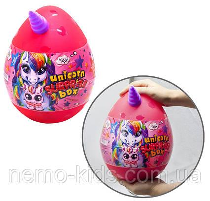 """Набор для творчества в яйце """"Unicorn Surprise Box""""  для девочки"""
