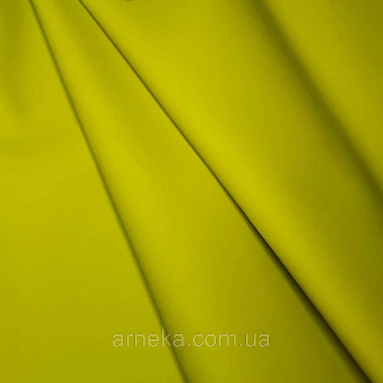 Шкіра штучна матова 20*30 см лимонна