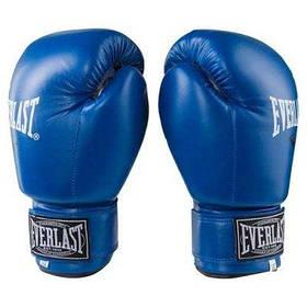 Боксерські рукавички сині 8oz Everlast DX-380 SKL11-281380
