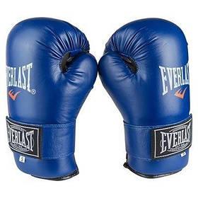 Рукавички для єдиноборств сині Everlast KungFu ММАFlex розмір S SKL11-281406