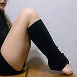 Гетры 40 см  черные, фото 4