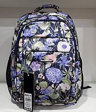 Школьный рюкзак с ортопедической спинкой для девочки 3-4-5-6 класс, модный портфель на 9-10-11-12 лет