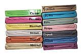 Махровые простыни на резинке натяжные однотонные 180х200 с наволочками двуспальные Разные цвета Турция Evibu, фото 3