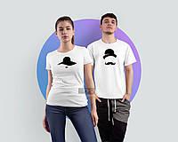 Парные футболки для пары