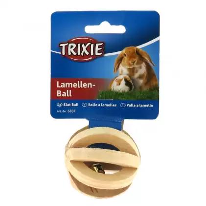 Дерев'яний м'яч для гризунів 6см, Trixie TX-6187