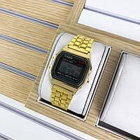 Наручные часы Casio 159 Gold-Black, фото 1