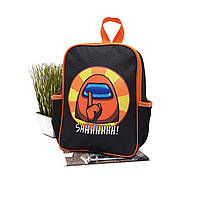 Дитячий рюкзак мультяшні персонажі чорний Арт.44-3 (Україна)