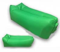 Надувной диван ламзак Lamzac надувной матрас зеленый
