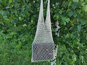 Сумка на плечо - Хлопковая сумка - Авоська - натуральный - белый