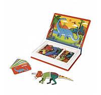 Магнітна книга Janod Динозаври, фото 1