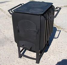 """Буржуйка """"Кормилица"""" с конвекцией+ вторичный дожиг печных газов, сталь 4мм, фото 3"""