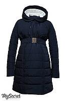Очень теплая куртка для беременных Neva, синяя