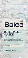Глубоко очищающая маска для лица с грязью и солями Мертвого моря- Balea Totes Meer Maske  2шт х 8 мл.
