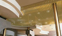 Реечный потолок в комнате, фото 1