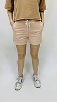 Женские короткие пудровые шорты S-XXXXL размеры Женские спортивные, повседневные шорты