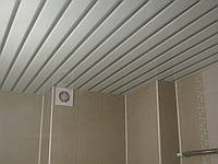 Алюминиевый потолок в ванной, фото 1
