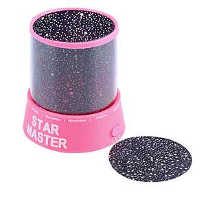 Проектор нічник Зоряне Небо (рожевий) 967130031
