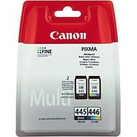 Комплект струйных картриджей Canon для Pixma MG2440/MG2540/PG-445/CL-446 Multipack,  8283B004