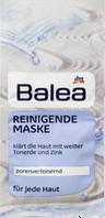 Очищающая маска для лица с глиной и цинком  Balea Reinigende Maske 16 мл