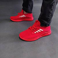 Мужские летние кроссовки красные