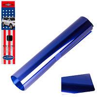 Полоска на лобовое стекло простая Autodnepr 0.2x1.5m Blue-Silver (Autod 0.2x1.5m  S306-1M)