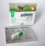 Профендер Спот-он краплі для собак вагою від 0,5 кг до 2,5 кг