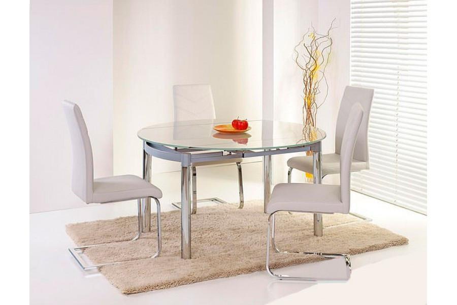 Стол стеклянный обеденный Nestor (Halmar ТМ)
