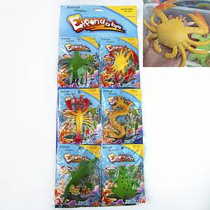Растущие в воде игрушки 10х6см гиганты Океан №1 цветные (уп 6 шт) 1430619448