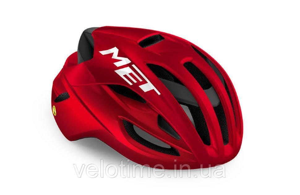 Шлем Met RIVALE MIPS CE (RED METALLIC   GLOSSY L 58-61 cm)