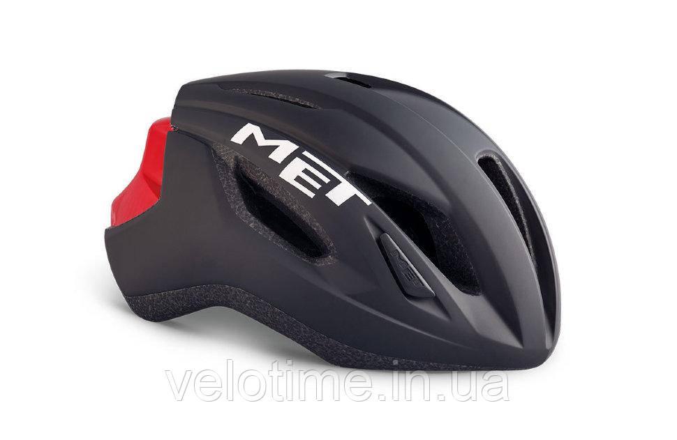Шлем Met Strale  (L BLACK/RED  59-62)