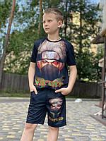 НОВИНКА !!! Летний детский   костюм Какаши  +маска в подарок., фото 1