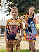 Family Look/ Фемелі look( сарафан+літній костюм ) + макса в подарунок!