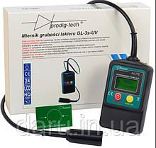 Толщиномер лакокрасочных покрытий GL-3S-UV (0 мкм до 2000 мкм) c выносним датчиком