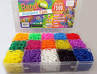 Набор резинок для плетения браслетов 7500 без аксессуаров