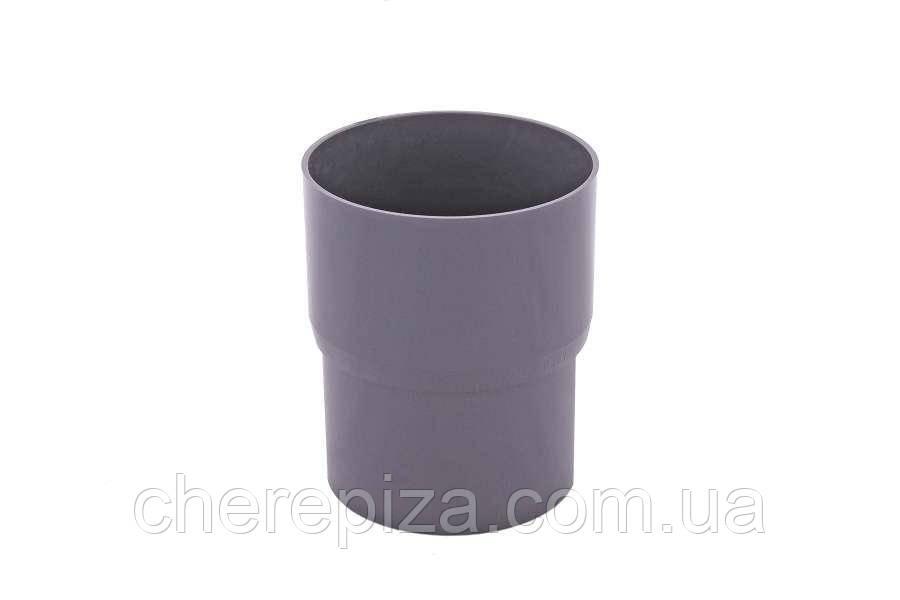 З`єднувач труби Profil 130 графітовий