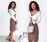 "Модный комплект летний сарафан + рубашка ""Eclipse"", фото 3"