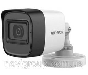 2MP Камера TVI / AHD / CVI / CVBS з вбудованим мікрофоном Hikvision DS-2CE16D0T-ITFS (3,6 ММ)