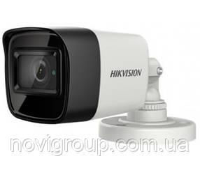 5мп TVI / AHD / CVI / CVBS відеокамера ColorVu Hikvision DS-2CE10HFT-F (2.8 ММ)