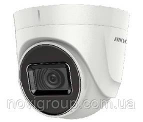 5мп TVI / AHD / CVI / CVBS відеокамера Hikvision DS-2CE56H0T-ITPF (2.4 ММ)