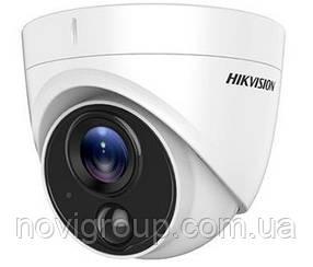 5.0 Мп Turbo HD відеокамера з PIR датчиком Hikvision DS-2CE71H0T-PIRLPO (2.8 ММ)